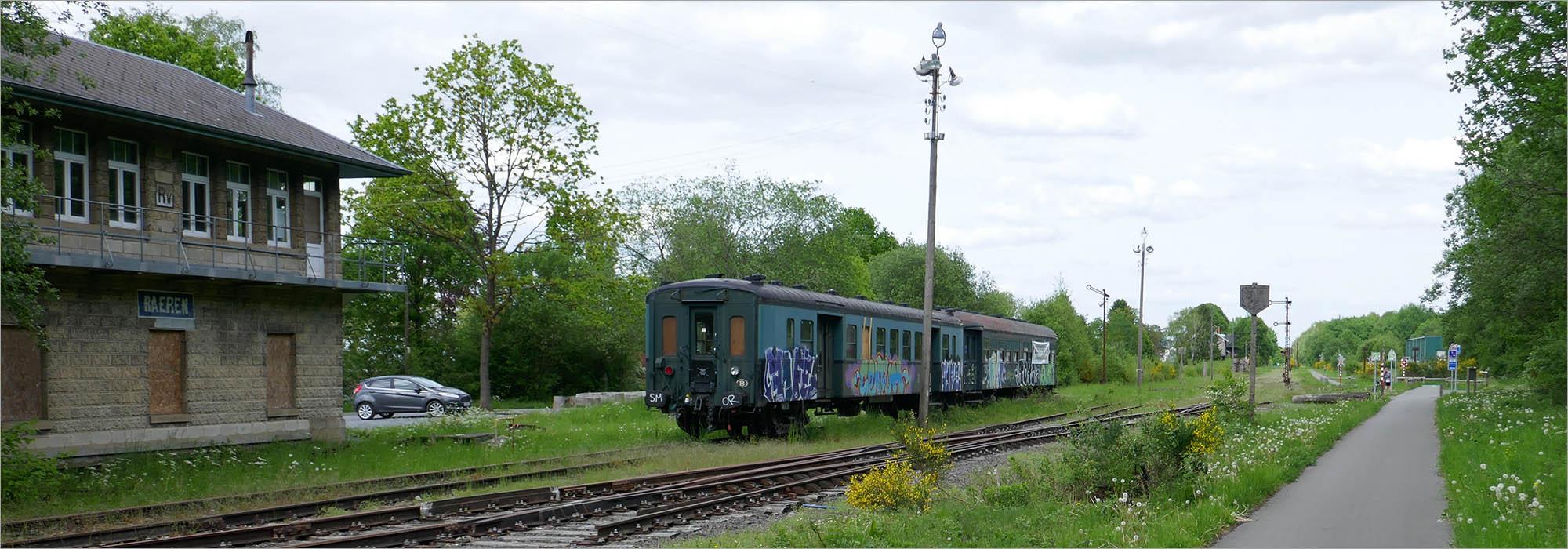 (Voormalig) station Raeren, fietsen Vennbahn