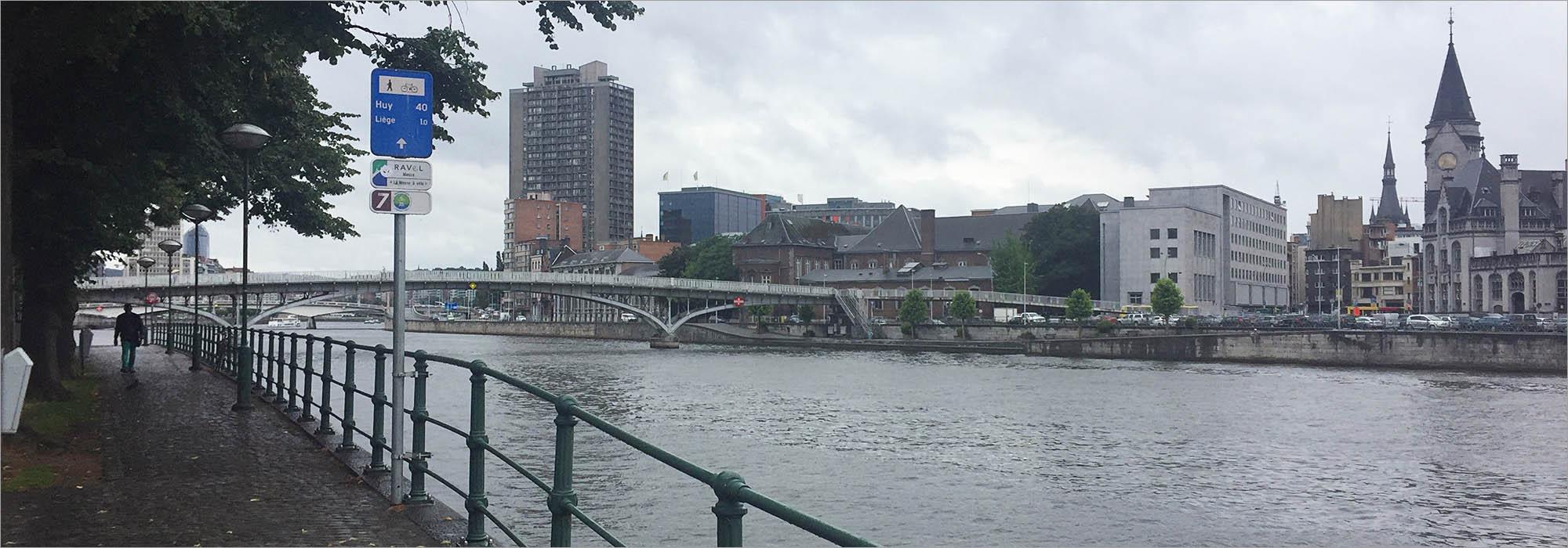 Liège, fietsen in België
