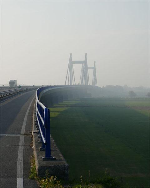 Prins Willem-Alexanderbrug, fietsen naar Parijs