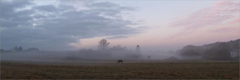 De dag begint bij Modave, Waalse Ardennen
