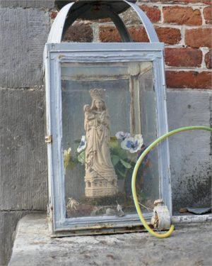 Maria in een lantaarn, fietsen naar Parijs