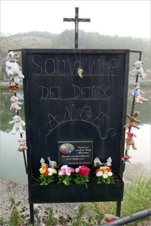 Souvenir de deux anges, fietsen naar Parijs