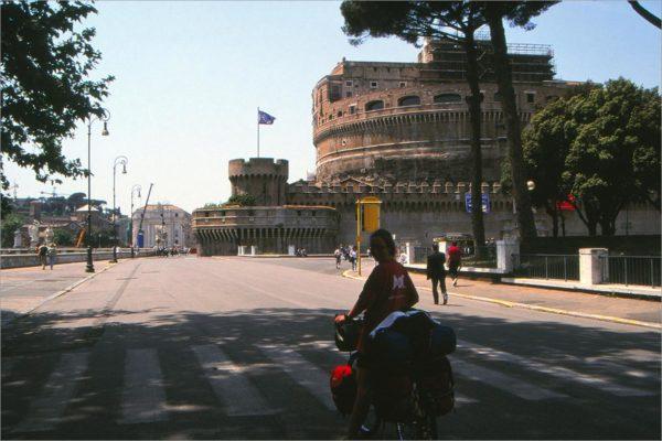 Engelenburcht, fietsen in Rome