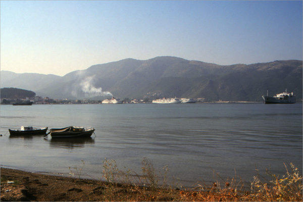 De haven van Igoumenitsa