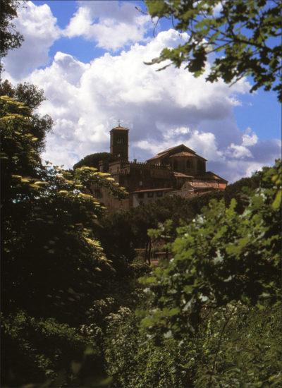 Klooster buiten Rome.