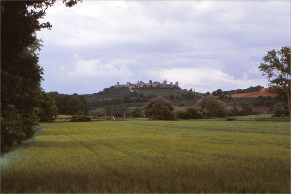 Monteriggioni.