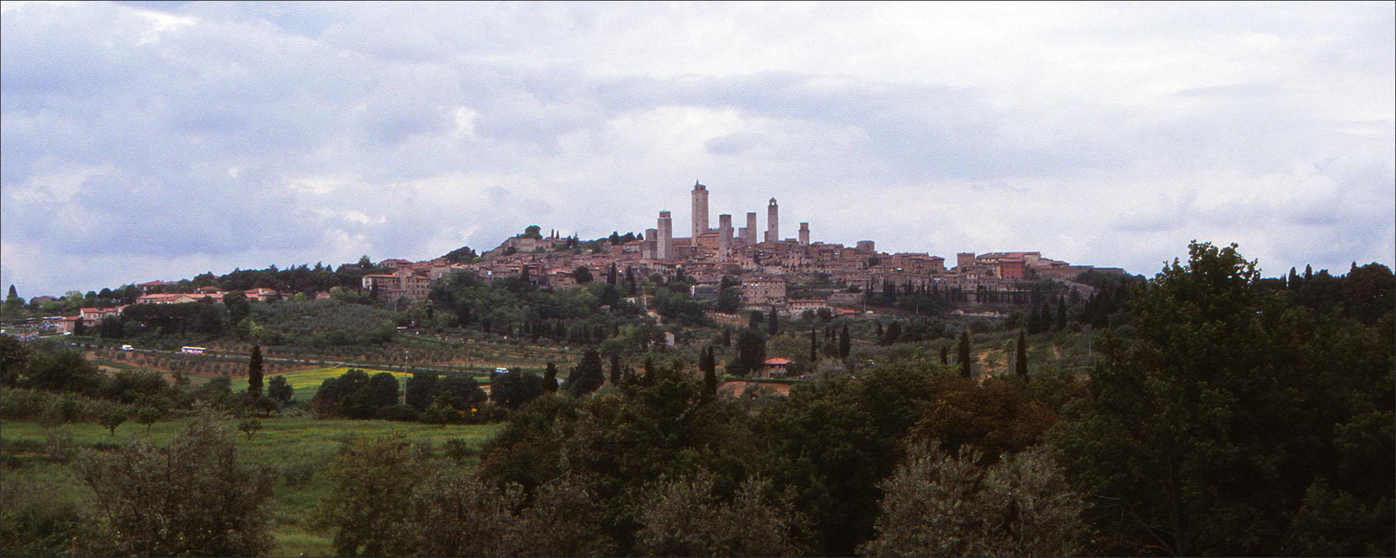 San Gimignano, de stad met de veertien torens.