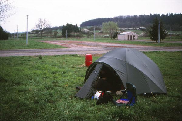 Vrij kamperen in Buding. Voor niets, met niets.