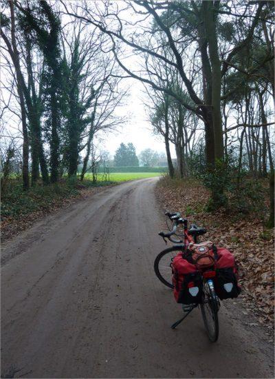 Versnipperd landschap, fietsen in België
