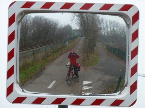 Fietspad naar Neerpelt, fietsen in België