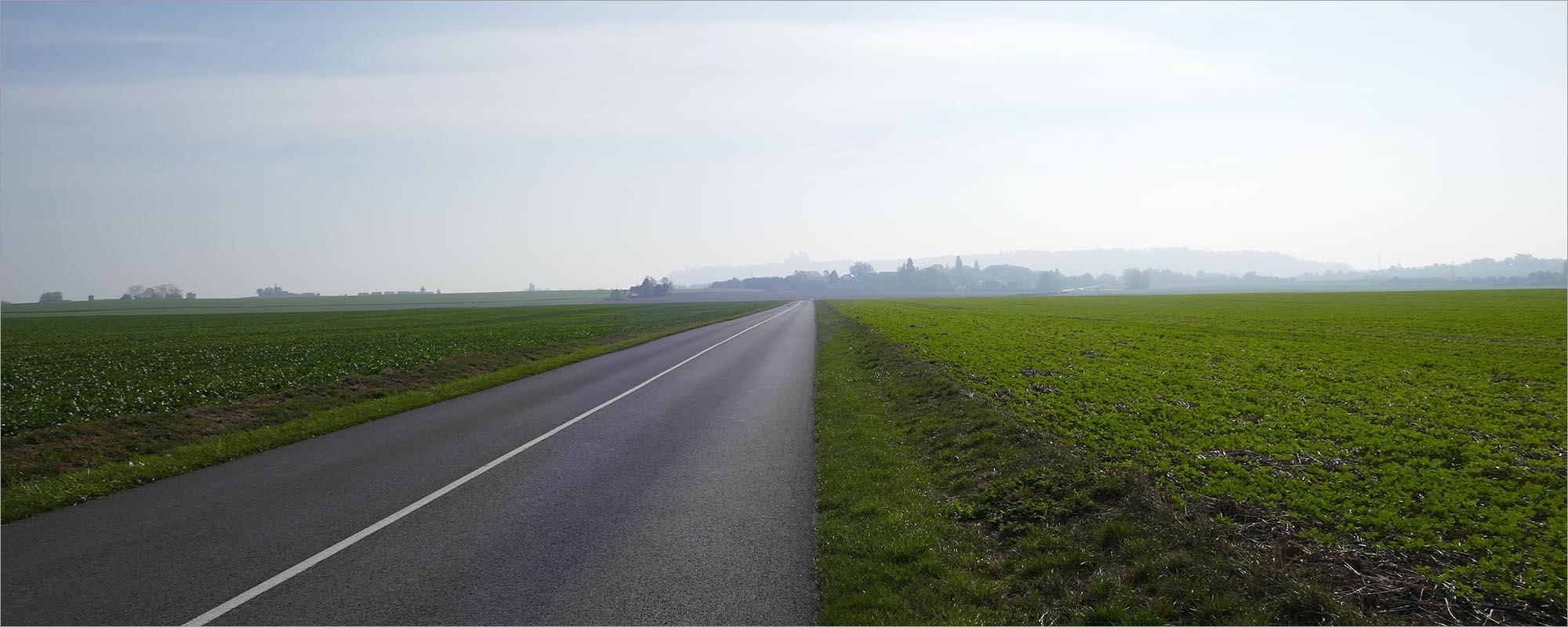 Akkerland naar Laon, fietsen naar Parijs