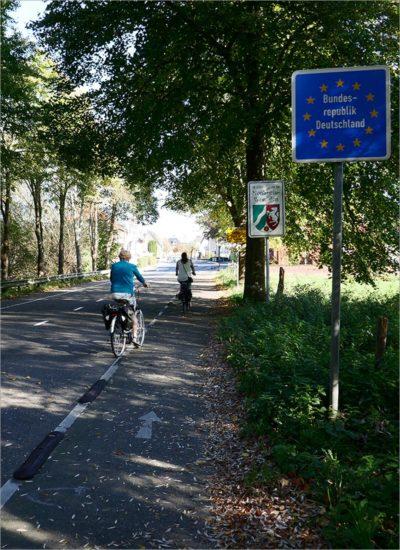 Duitse grens, fietsen in de Eifel