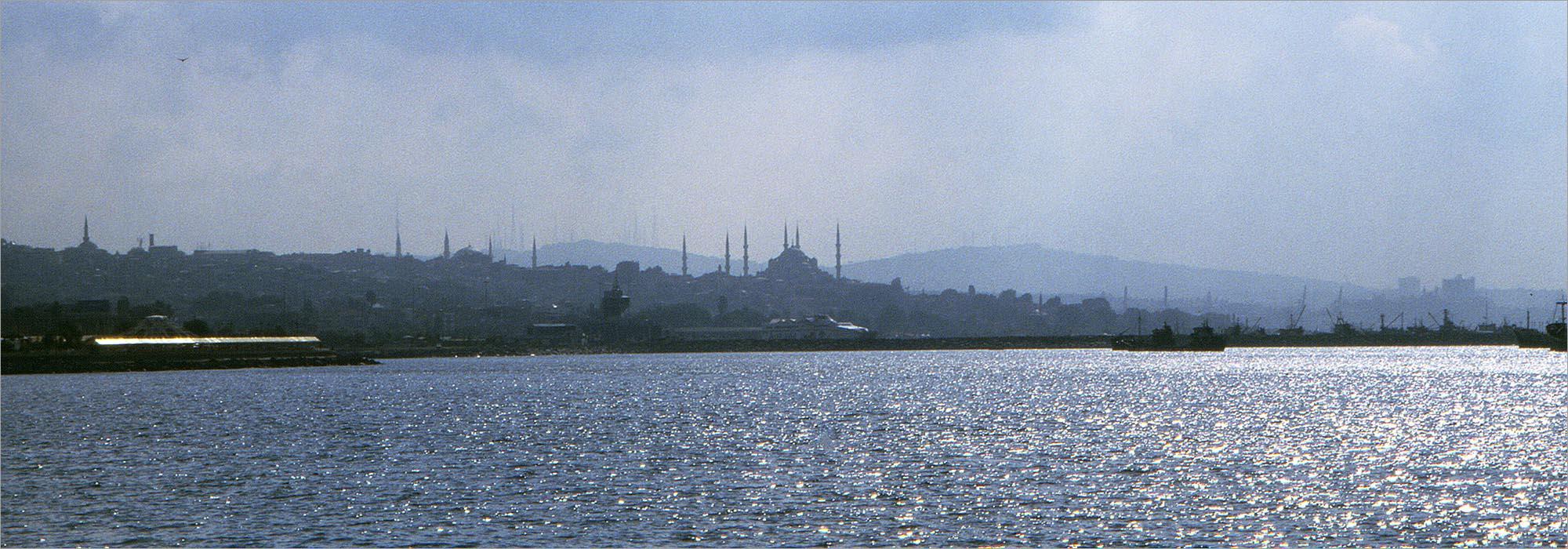Sultanahmet, Zee van Marmara, fietsen in Turkije