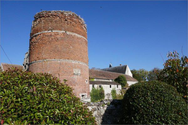 Château de Nantouillet, fietsen naar Parijs
