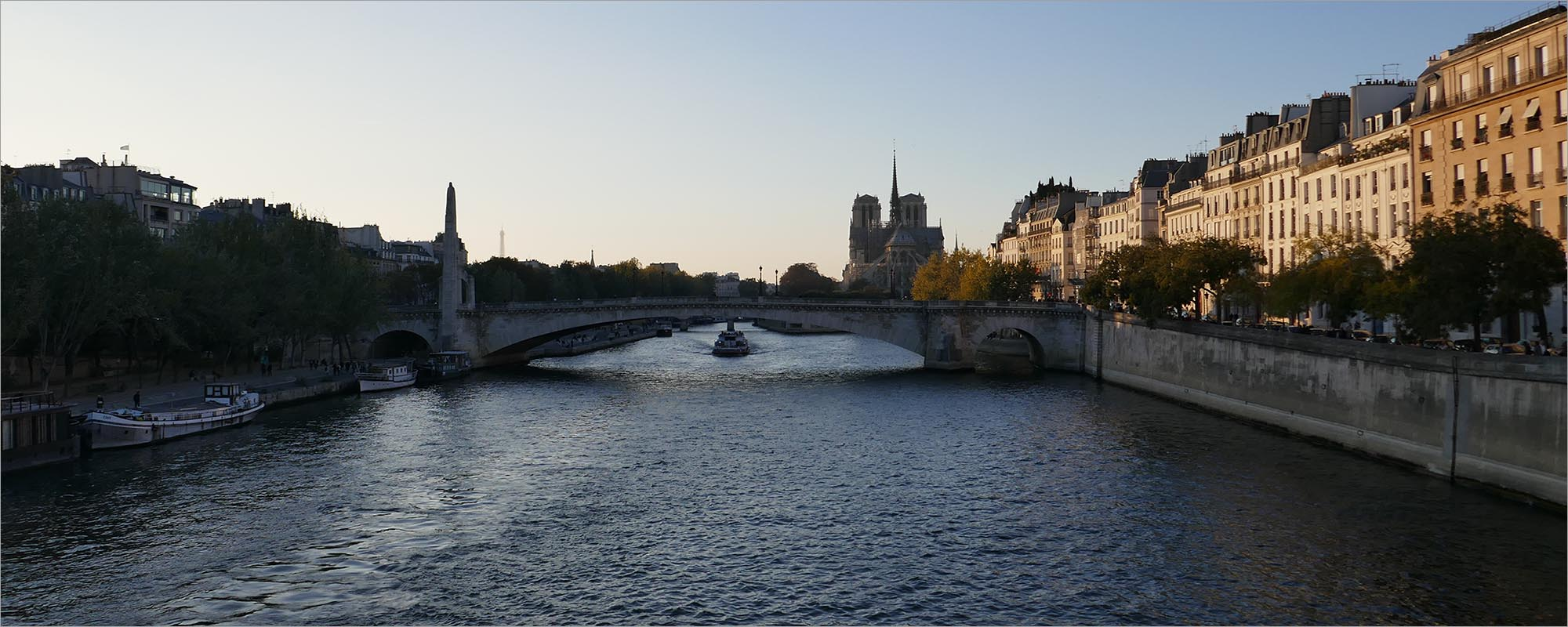 De Seine, fietsen naar Parijs