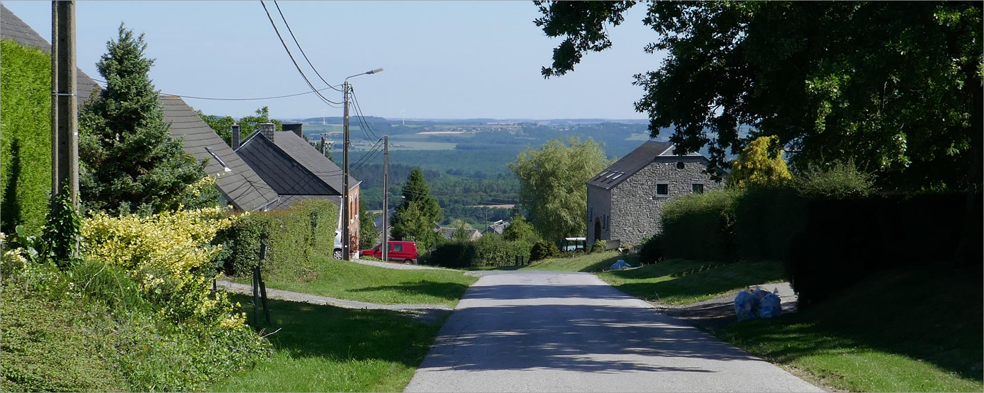Condroz, fietsen in de Ardennen