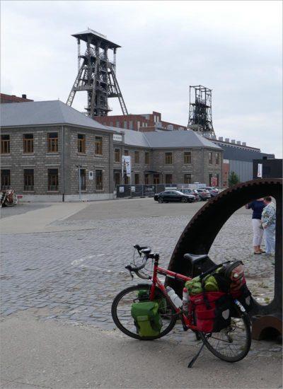 De voormalige kolenmijn in Beringen-Mijn