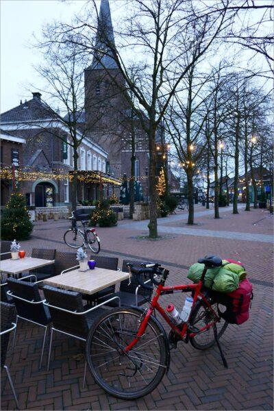 Winterterrasweer in Deurne.