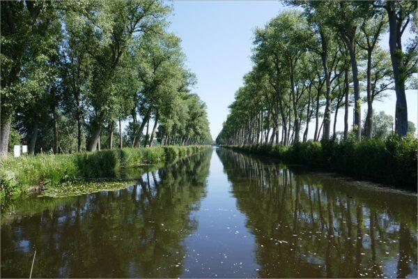 Damse Vaart, fietsen in Vlaanderen