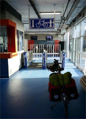 Terminal Westerschelde-ferry, fietsen in Vlaanderen