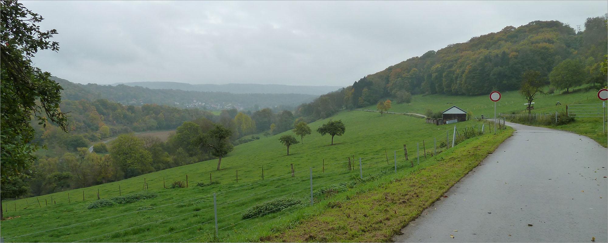 Fietsen naar Luxemburg, over autovrije wegen.
